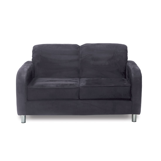 Suave Midnight Loveseat